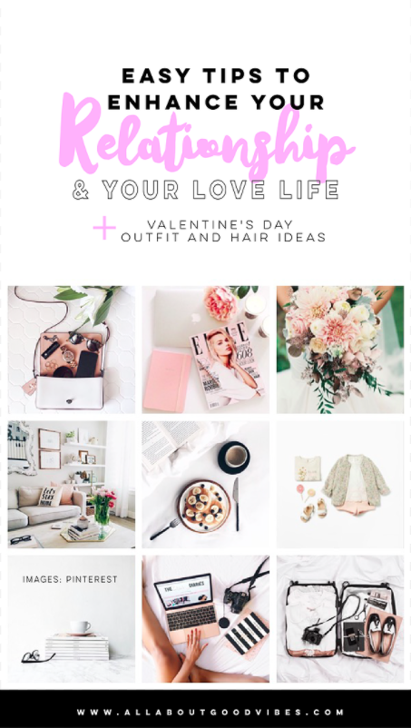 Easy Feng Shui Tips To Enhance Your Relationship And Your Love Life x Valentine's Day Outfit And Hair Ideas
