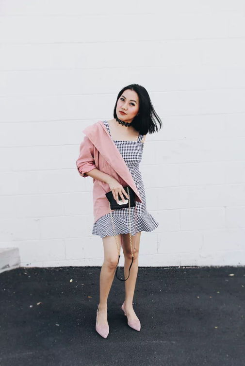 How To Style A Gingham Dress From Casual To Formal Occasion