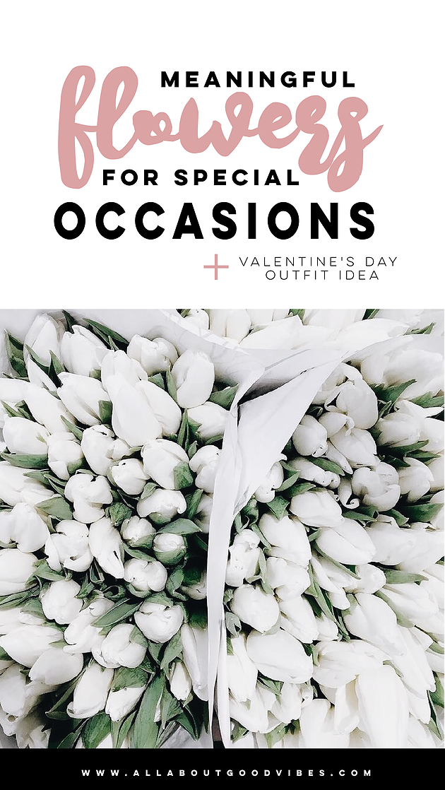 Meaningful Flowers For Special Occasions x Valentine's Day Outfit Idea