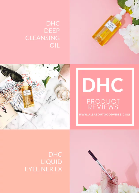 Reviews: DHC Deep Cleansing Oil and DHC Liquid Eyeliner Ex