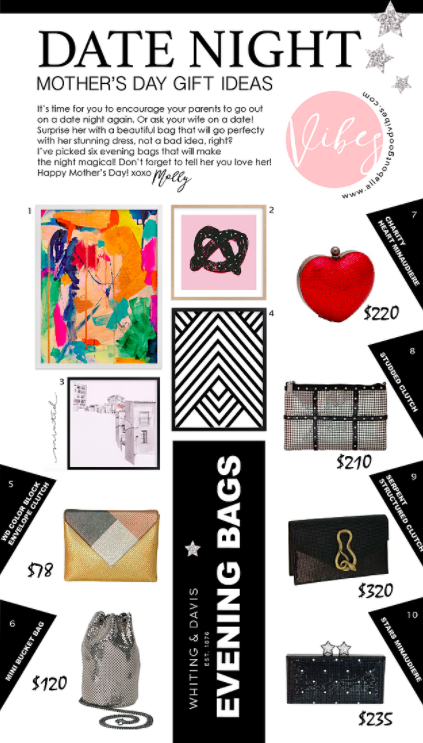 Evening Bag Ideas For A Perfect Date Night   Mother's Day Gift Guide