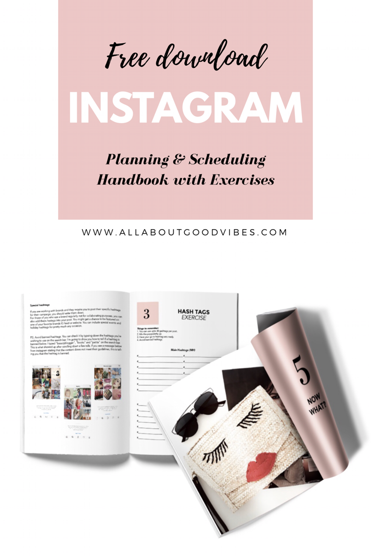 Free Ebook of Instagram Tips | Avoid banned hashtags_