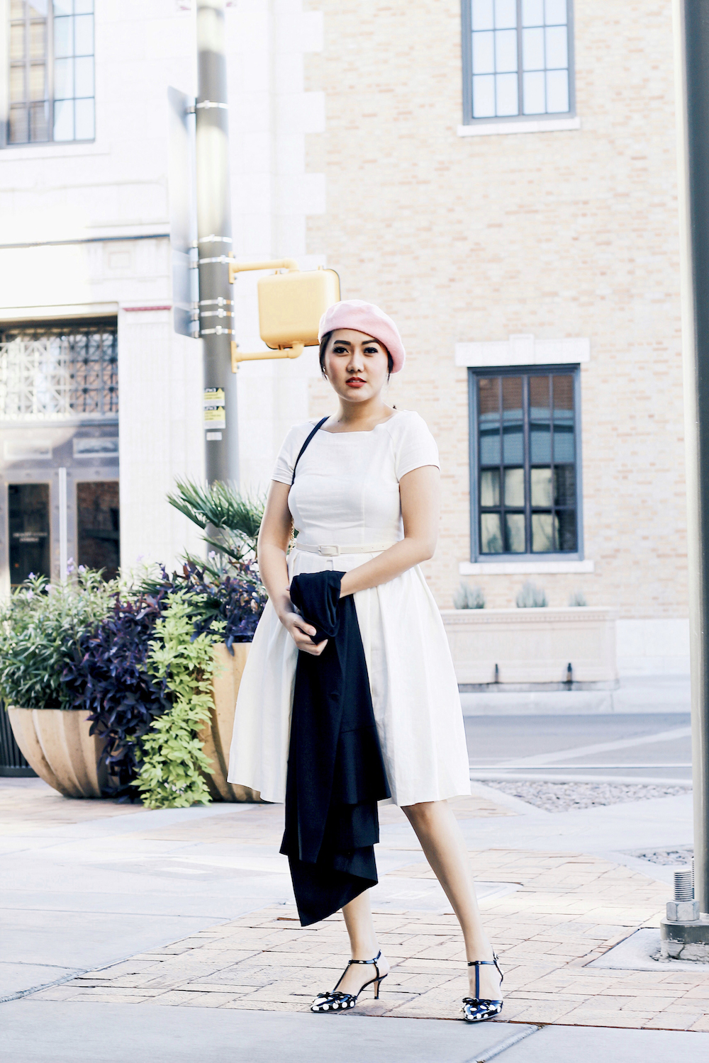 Holiday Outfit Ideas White Dress All About Good Vibes
