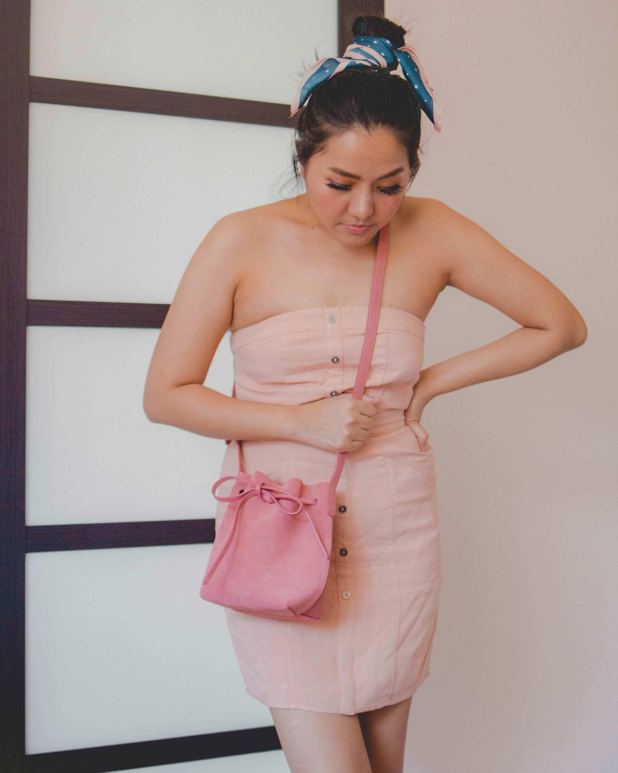Inexpensive-Summer-Dresses_Peach-summer-dress_instagram_@thevibescloset