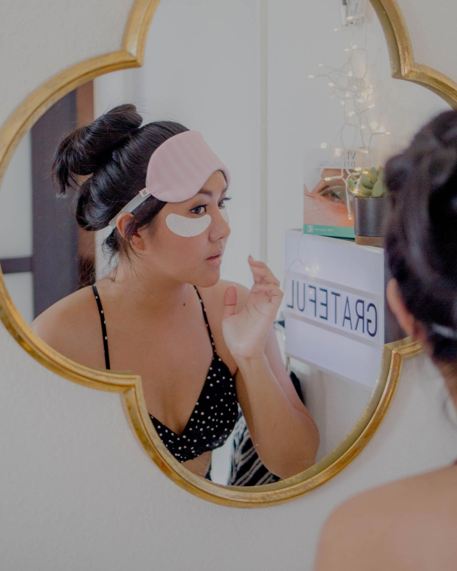 Over Night Eye Mask Review AllAboutGoodVibes.com IG @TheVibesCloset