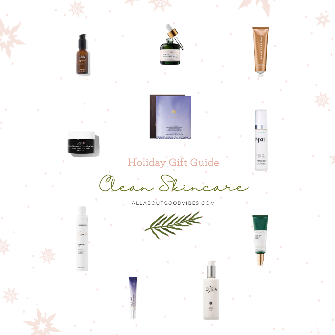 Holiday Gift Guide Clean CRUELTY FREE Skincare Molly Larsen Beauty Style Arizona Blogger allaboutgoodvibes.com IG @TheVibesCloset_2