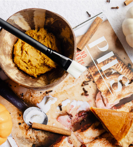 DIY Pumpkin Pie Face Mask
